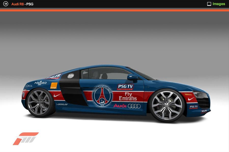 Audi R8 Psg