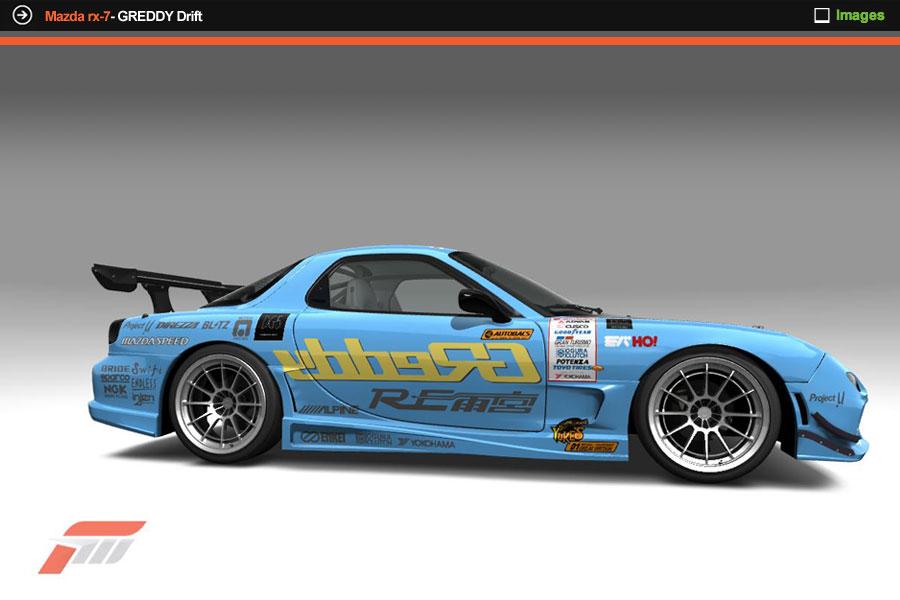 Cars >> Mazda Rx7 - Greddy