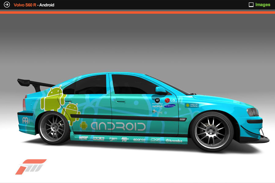Volvo S60 R Android
